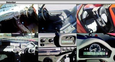 Detalhes do interior do Angel T01. Fonte: MyBlog Yahoo [3].
