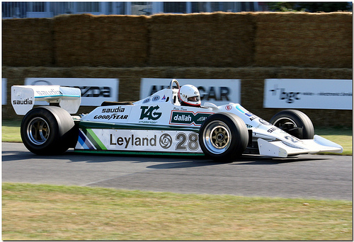 Anthony Reid, Williams FW07B Cosworth, 2008