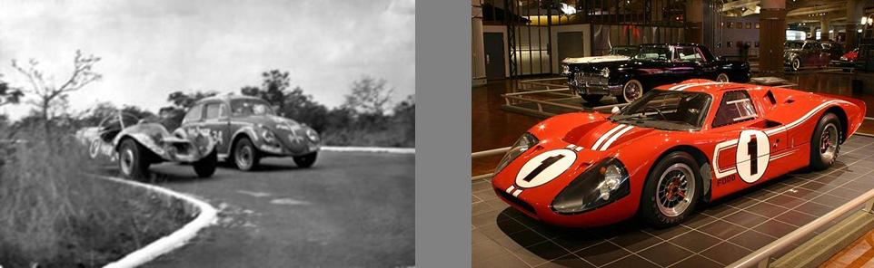 O resultado final do Camber realmente necessita de algum esforço para ser considerado similar ao Ford GT40. Fonte: [1].