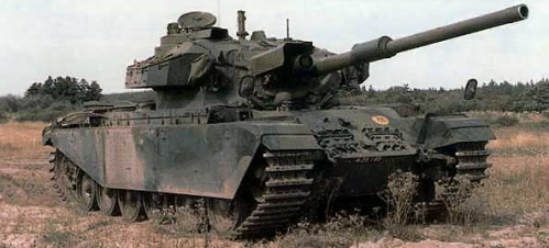 Tanque Centurion que cedeu o motor ao The Beast Mk1. Fonte: Defense of the Realm [2].