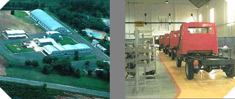 A fábrica da Matra em Ibaiti tinha capacidade para produzir até 1800 veículos por ano. Fonte: Montadoras brasileiras [3].