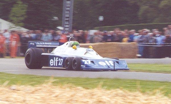 Martin Strelton, Tyrrell P34B Cosworth, 2000