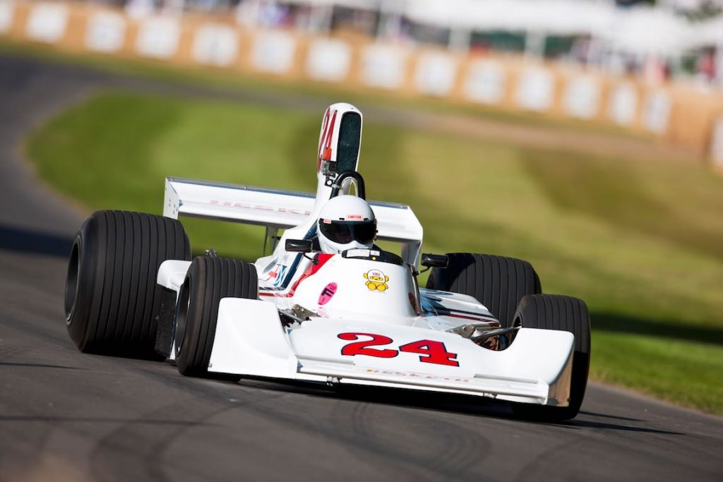 Michael Lyons, Hesketh 308E-Cosworth