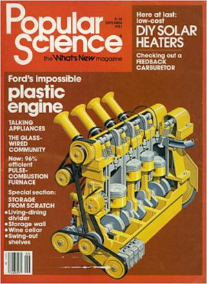 Na década de 80 a popularidade do motor foi grande, chegando a ser destaque na famosa revista Popular Science. Apesar da manchete, Matty Holtzberg afirma que a Ford não teve participação no projeto.