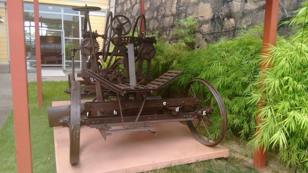 """Vista do sistema """"leaning-wheel"""". Fonte: Arquivo pessoal [3]"""