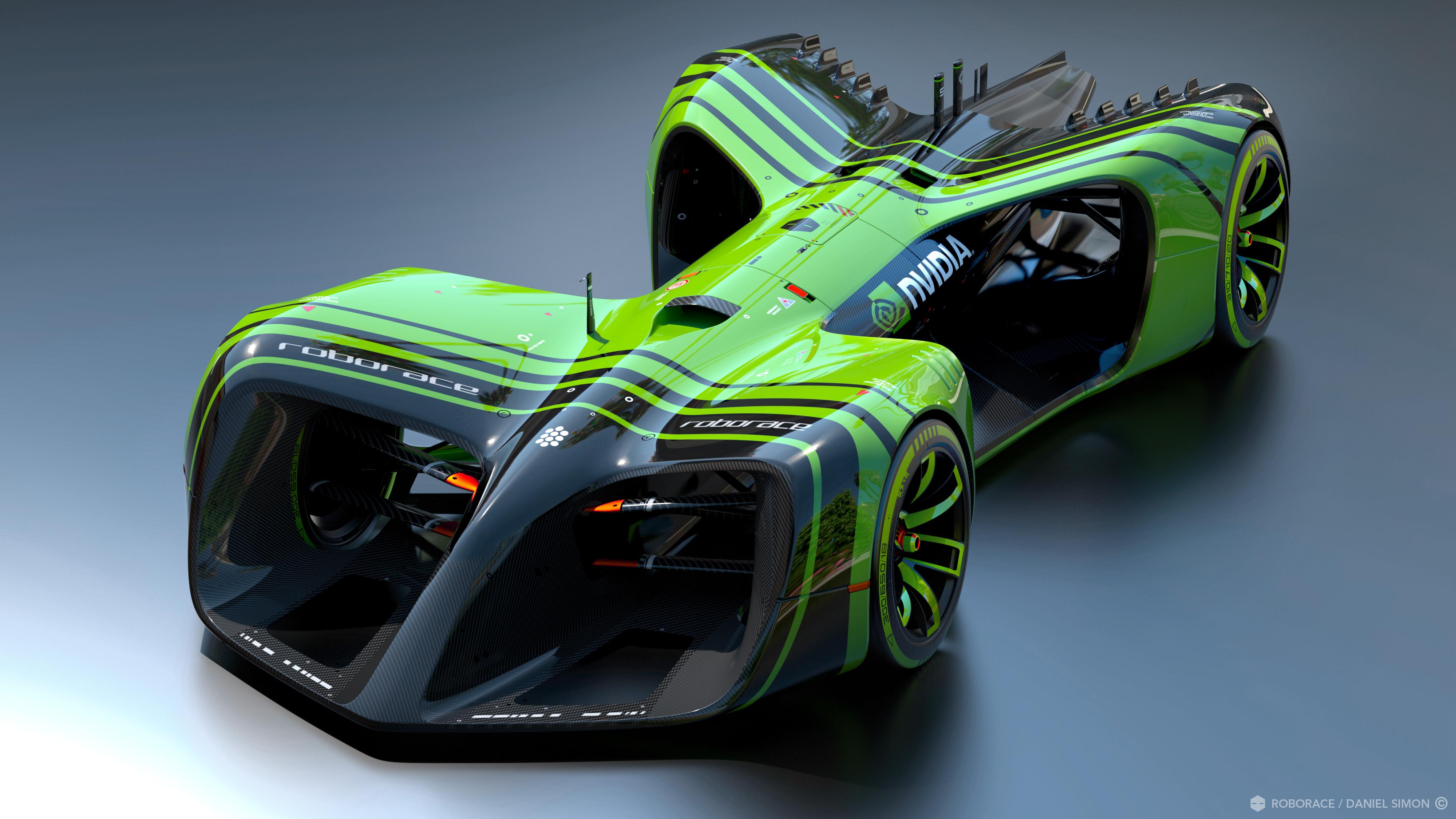 O grande parceiro de tecnologia da informação para a RoboRace será a NVIDIA. Fonte: NVIDIA [2].