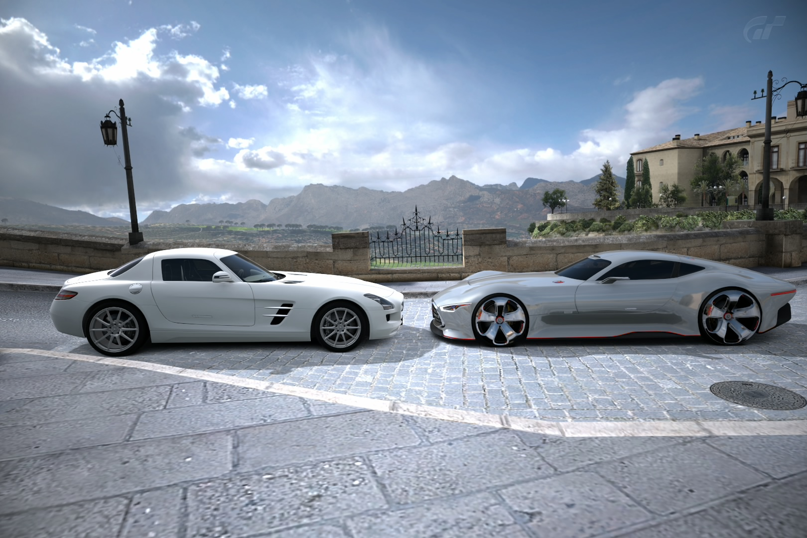Mercedes SLS AMG & AMG Vision