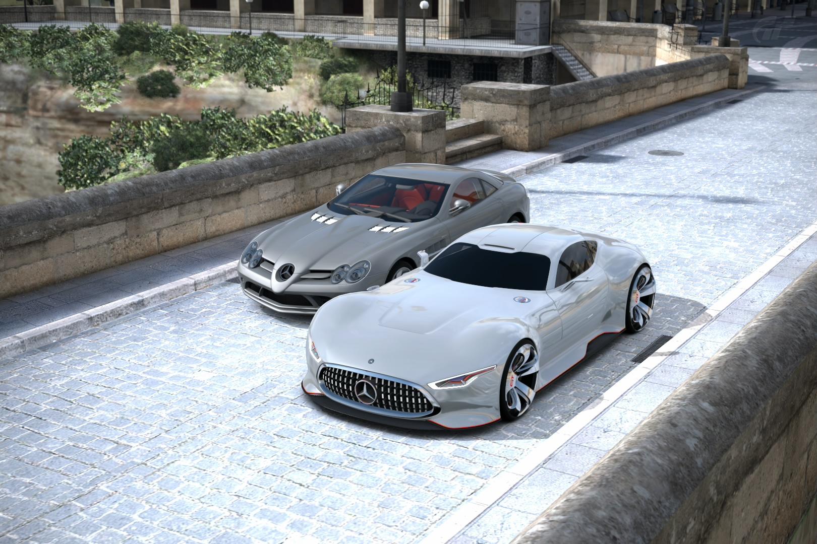 Mercedes SLR & AMG Vision