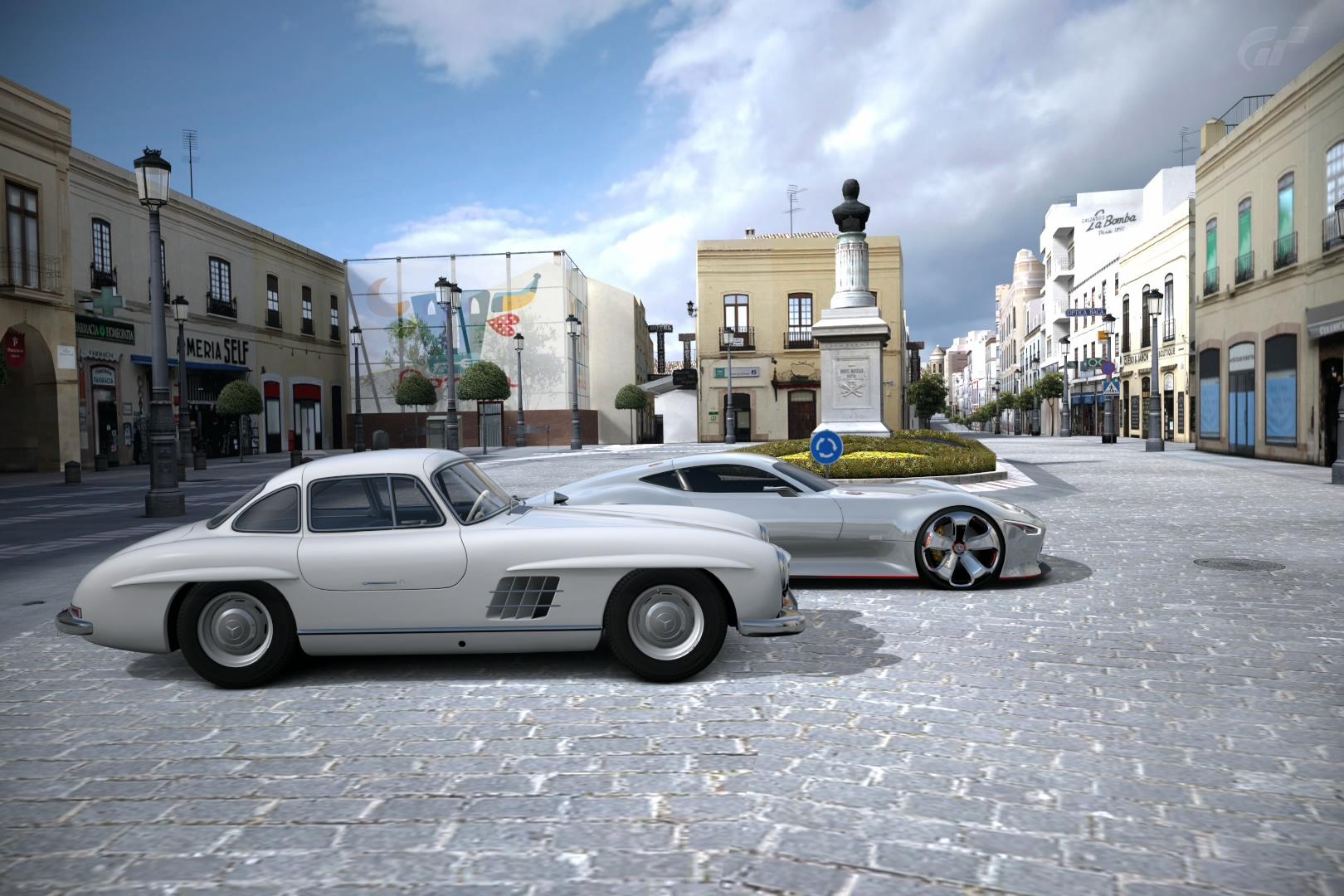 Mercedes-Benz 300 SL & AMG Vision