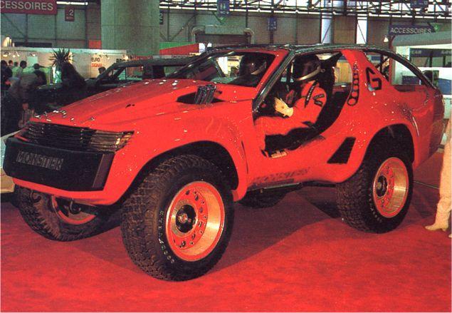 Apresentação do Monster G no Salão de Genebra de 1987. Fonte: Car Styling [1].