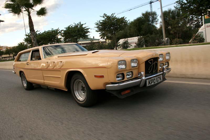 The Beast Mk2 sem a grade Rolls-Royce. Fonte: Caja de Cambios Automaticas [4].