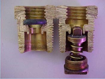 Válvula UVC-I em corte [5]. Fonte: Fogás.