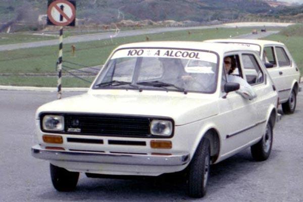 Fiat 147 – primeiro carro a álcool brasileiro. Fonte: G1 [1].